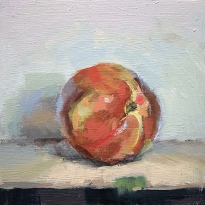 still life of nectarine